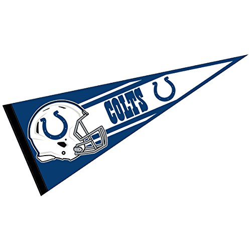 Indianapolis Colts Official NFL 30 inch Large Pennant - Indianapolis Colts Wall Pennant