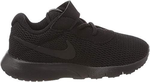 Nike Baby Boy's Tanjun Sneakers, Black/Black, 6 Toddler