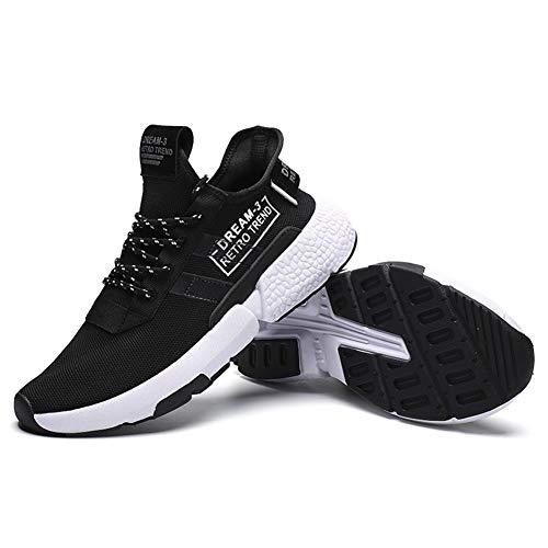 Sneaker Für Herren Running 9613 Laufschuhe Damen Mabove Atmungsaktiv Straßenlaufschuhe Fitness Outdoor Schwarz Rutschfest Sportschuhe Trainer Turnschuhe Gym pvqwY