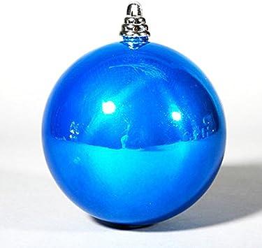 ZHUDJ Lago Espejo Bola Azul Bola-Bola De Navidad Árbol De Navidad ...