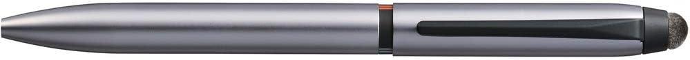 三菱鉛筆 3色ボールペン&タッチペン ジェットストリームスタイラス シルバー SXE3T18005P26