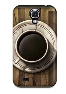 Defender Case With Nice Appearance (cup Of Coffee) For Galaxy S4 1439383K80277331