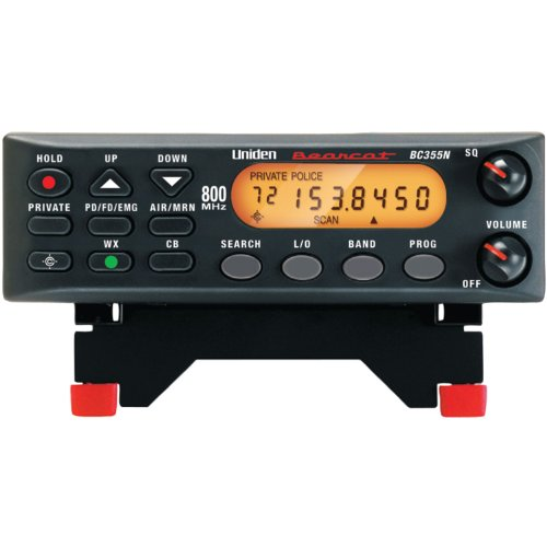Uniden BC355N 800 MHz 300-Channel Base/Mobile Scanner. Close Call RF Capture Technology. Pre-programmed Service Search.