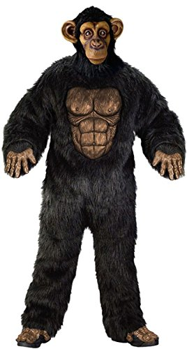 Complete Chimpanzee Adult Costume - Standard ()