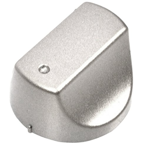 SPARES2GO Hot-Ari ix Control Knob Switch for Hotpoint DH99CX DHS53CX DHS53CXS DHS53X DHS53XS Oven Cooker Hob (Silver)