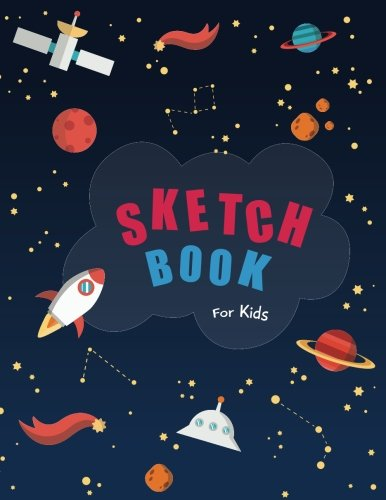 Sketch book for kids: Blank Paper for Drawing - 110 Pages ( 8.5