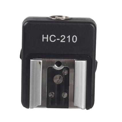 Mcoplus - E-TTL zapata adaptadora para Flash con puerto de PC de ...