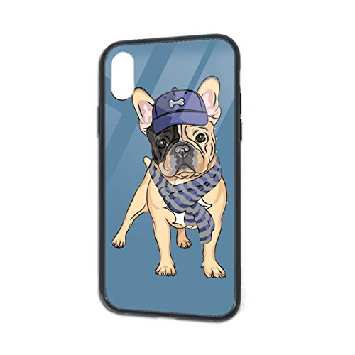 Anti-Fall French Bulldog Soft Silicone TPU Phone Case for iPhone X iPhone -
