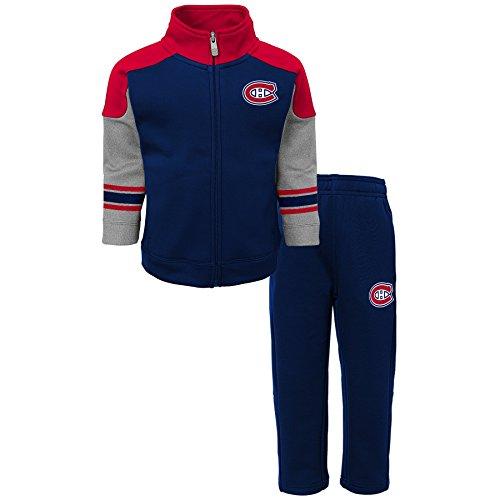NHL Montreal Canadiens Children Boys Shutdown Jacket & Pantss Set, Large(7), True Navy (Montreal Nhl Hockey)