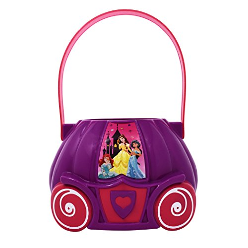 Disney Princess Figural Plastic Bucket, Purple/Pink