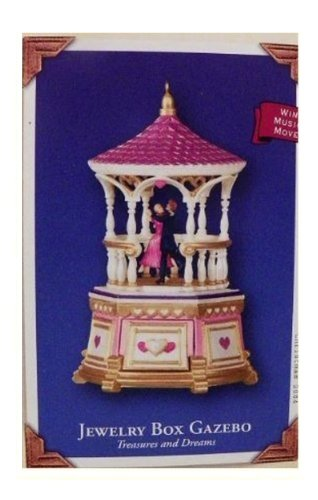Treasures and Dreams 3rd in Series: Jewelry Box Gazebo 2004 Hallmark Keepsake Ornament QX8121 Hallmark Ornaments