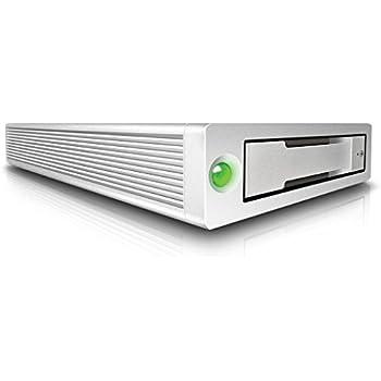 CalDigit AV Pro 2 Storage Hub USB C External Drive - Charge up to 30W, 2016 Macbook, Macbook Pro, Thunderbolt 3 PC Compatible - 3TB