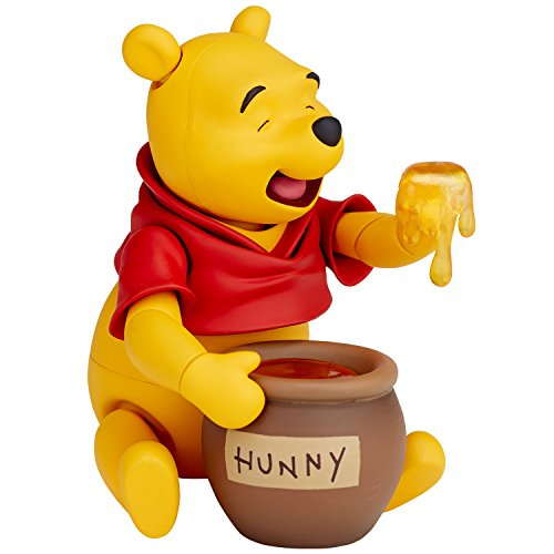 figurecomplex Movie · Ribbon Winnie The Poo About 95mm ABS & PVC Painted Action Figure Revoltech from Kaiyodo