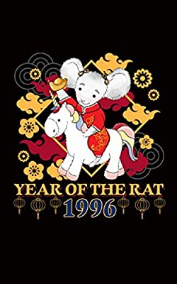Year of the Rat 1996 Unicorn Journal Notebook: Happy Chinese New Year - Lined Note Book, Travel Size (Chinese Birthday Gifts Vol 11)