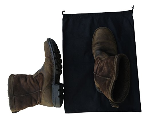 2 Woly XXL Shoe Bags (18''x 14'' in.) Fits 2 Pairs of Shoes Per Bag. Good for Travel. Made in Germany. by Woly (Image #7)