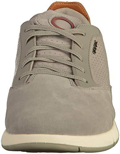 Stringata scarpe Grigio sneaker Da Sportivi Uomo Sportive Scarpe Sneaker basso Geox Ginnastika U927fa signori Cosa scarpa traspirante Aerantis scarpe scarpe xIAqFT