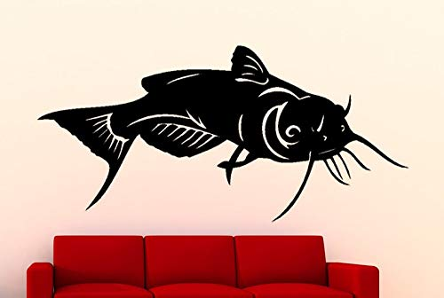 BYRON HOYLE Catfish Fish Sea Animal Vinyl Wall Art Graphic Decal