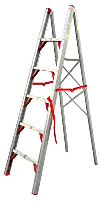 Telesteps 600FLS OSHA Compliant 6 ft Single sided folding step ladder (STIK)