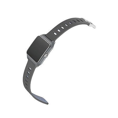 Montre Connectée Femme Électronique Sportive P1C Contrôle Plein écran GPS Montre Intelligente Bracelet Pédomètre Traqueur de Sport: Amazon.fr: High-tech