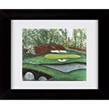 Augusta - 12th Hole - PGA Golf Sports Framed Art Print