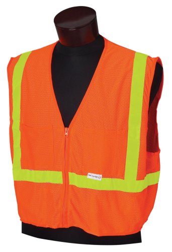 X-large Bright Reflective Safety Vests - 9
