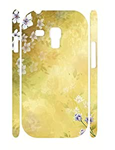 Beautiful Rose Bloom Design Rugged Phone Aegis Case for Samsung Galaxy S3 Mini I8200 Kimberly Kurzendoerfer
