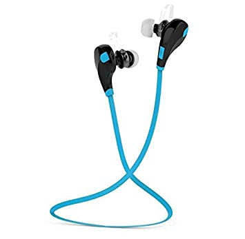 ZXzz Auriculares inalámbricos Bluetooth Headset Bluetooth 4.1 Auriculares Bluetooth Wireless Bluetooth Wireless Bluetooth Sport, Azul