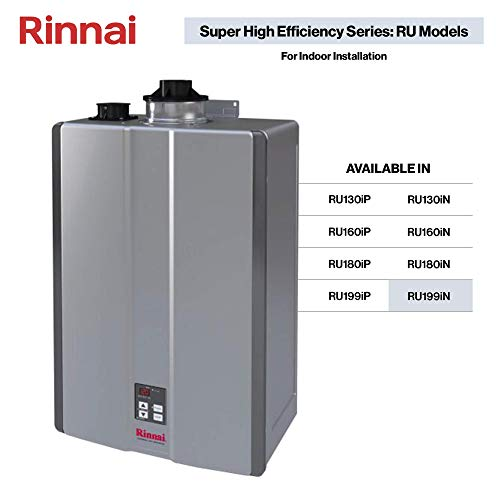 Rinnai RU Series Sensei SE+ Tankless Hot