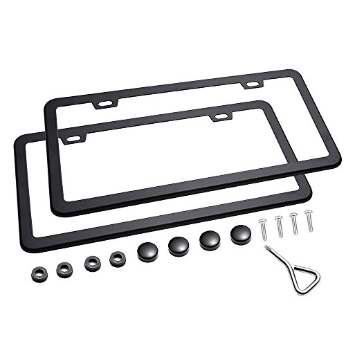 license plate frame with tabs - 5