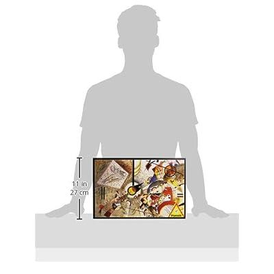 Piatnik 00 5396 Kandinsky - Bustling Aquarelle Puzzle: Toys & Games