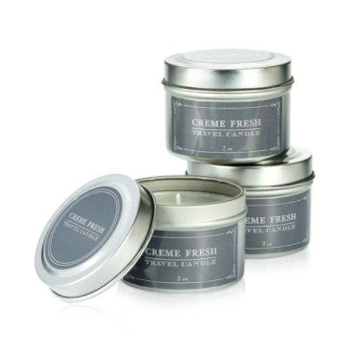 Studio Hall Creme Fresh 3 Piece Travel Tin Candle Set