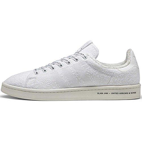 Adidas Mens Campus Slam Jam Bianco Bb6449