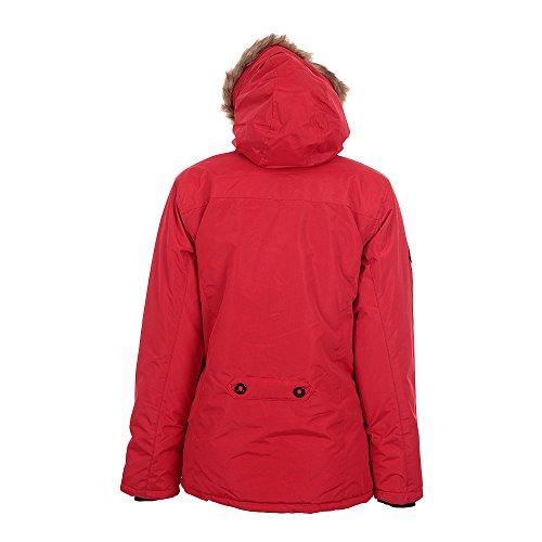 Peak Mountain - Parka mujer ALAVA rojo