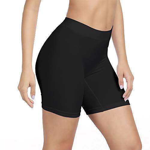 SIHOHAN Womens Slip Shorts Comfortable Short Pants Ultra Soft Seamless Long Briefs for Under Dresses Leggings and Yoga