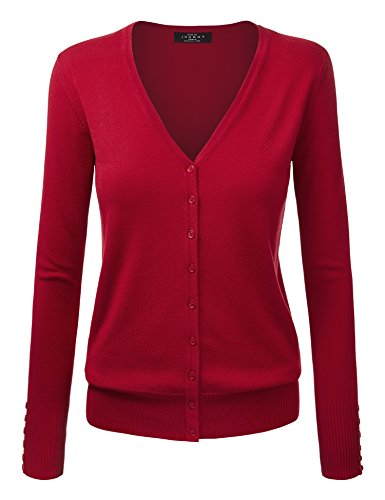 Womens Sleeve Classic Cardigan Sweater product image