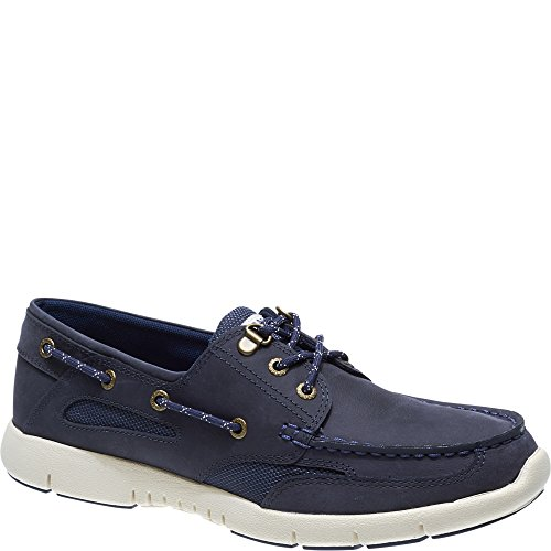 Sebago B130222 Hommes Derbies Navy, EU 44,5