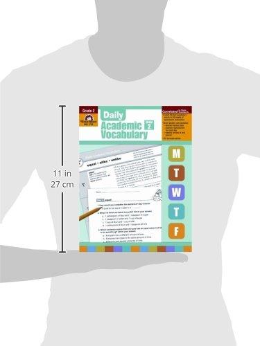 Workbook 2nd grade spelling worksheets : Amazon.com: Daily Academic Vocabulary, Grade 2 (9781596732018 ...