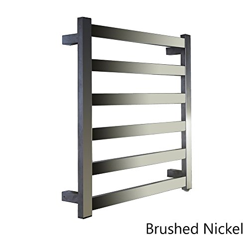 Virtu USA VTW-132A-BN Kozë Collection Towel Warmer, Brushed Nickel by Virtu USA