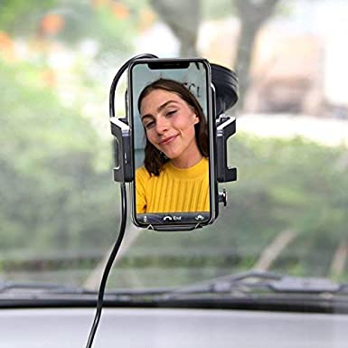 S7//S7 Edge,S6//S6 Edge,Google 4//5//6 KULUSSY Wireless Car Charger iPhone 8//X,Samsung Galaxy S8//S8+ Car Mount Charger by for all Qi Enable phones,360/° Rotation Air Vent Mount /& Dashboard Cup Holder