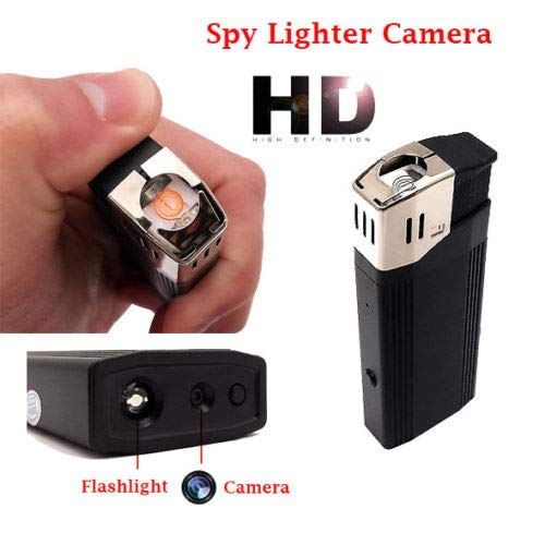 Cigarette Lighter Spy Recorder - SPYCENT Unvisable Hidden Spy Camera Lighter Flash Light Real Lighter