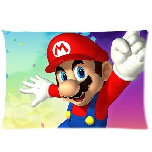 Mario Bros Custom fundas de almohada Funda para cojín funda ...