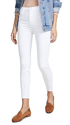 J Brand Jeans Women's Alana High Rise Crop Skinny, Blanc, 27 from J Brand Jeans