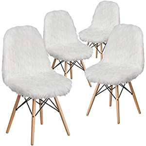 Flash Furniture Shaggy Dog Accent Chair