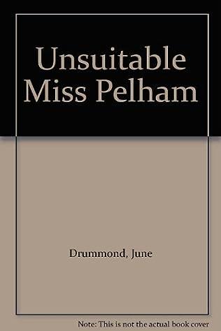 book cover of Unsuitable Miss Pelham