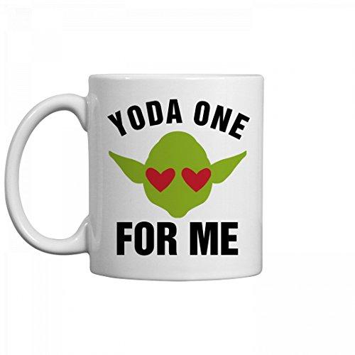 Yoda One For Me Sci Fi Nerd Gift: 11oz Ceramic Coffee Mug