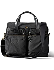 Filson 24 Hour Tin Cloth Briefcase - Black