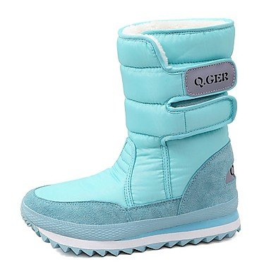 Jane PU Feather Bottes de occasionnels White Talon Hiver Mary ZxxFqw1T