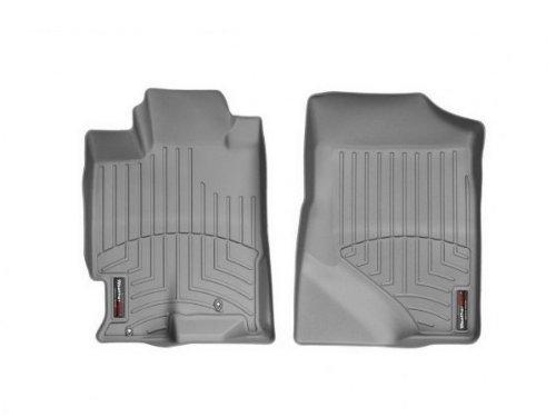 WeatherTech - 461171 - 2007 - 2012 Acura RDX Grey 1st Row FloorLiner ()