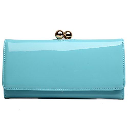 Miss Lulu, Poschette giorno donna blu Blue