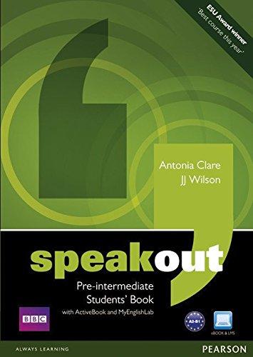 Speakout Pre Intermediate Students' Book with DVD: J. J. Wilson ...